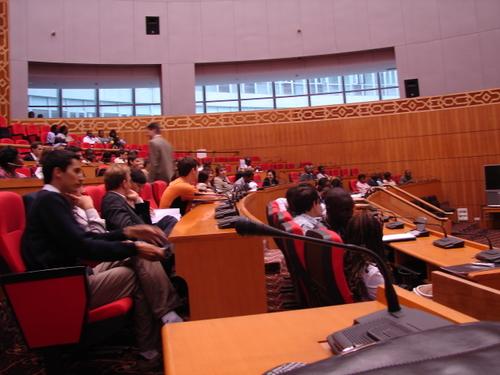 Les représentants au Parlement Francophone des Jeunes
