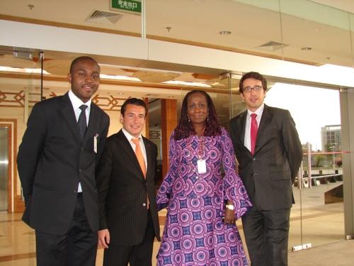 La Présidente du Groupe PDG au Sénat gabonais