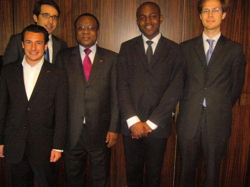 Recontre avec Son Excellence Jean-Marie Adzé, Ambassadeur du Gabon en France