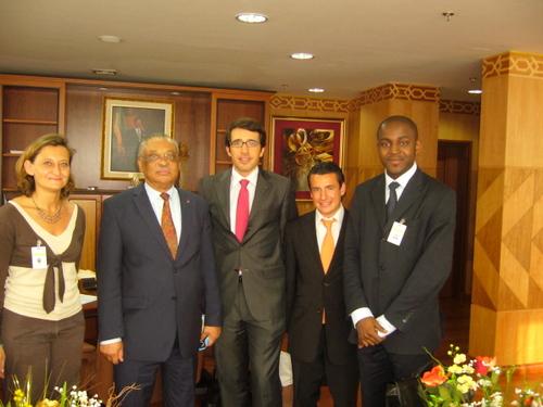Son Excellence le Président du Sénat Gabonais